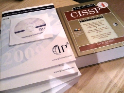 CISSP course books