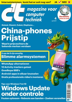 Cover of the April CT magazine
