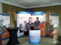 The Unixerius booth